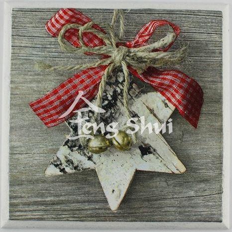Obrázok Vianočná hviezda 17.7x17.7 cm