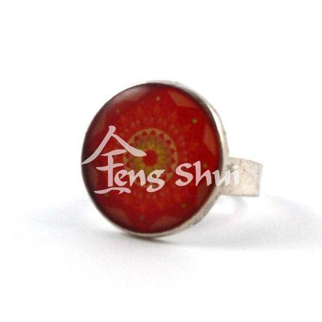 Prsteň Mandala 2, priemer lôžka 2 cm