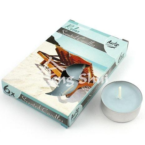 Voňavé čajové sviečky Relax