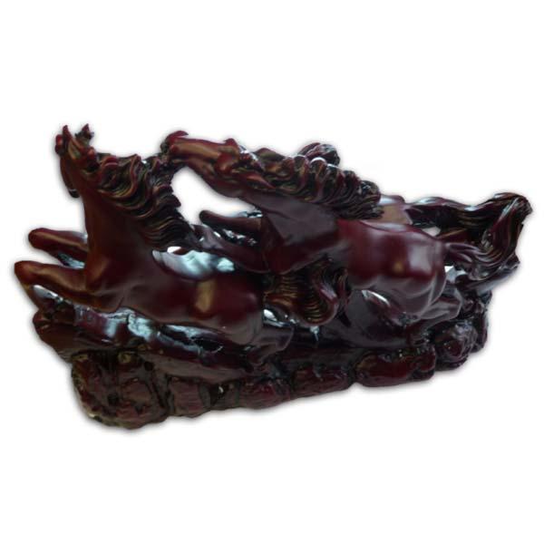 Obraz Pár koní (podnikanie) 26.7x 20.7 cm