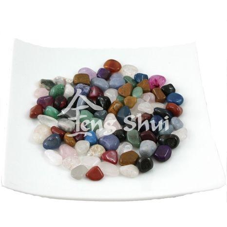 Dekorácia mix kameňov, balíček 100 g