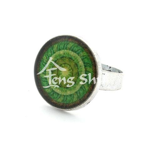 Prsteň Mandala Zem, kruh 2 cm